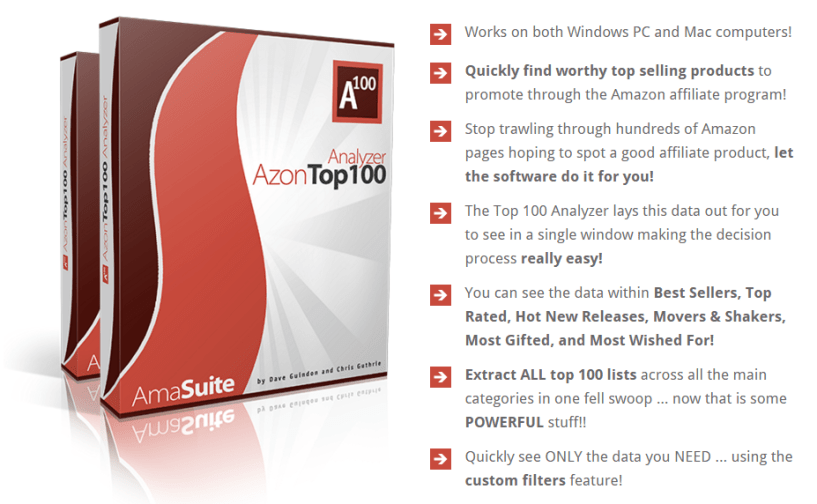 AmaSuite Version 4 Azon top 10