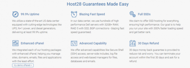 Host28 services