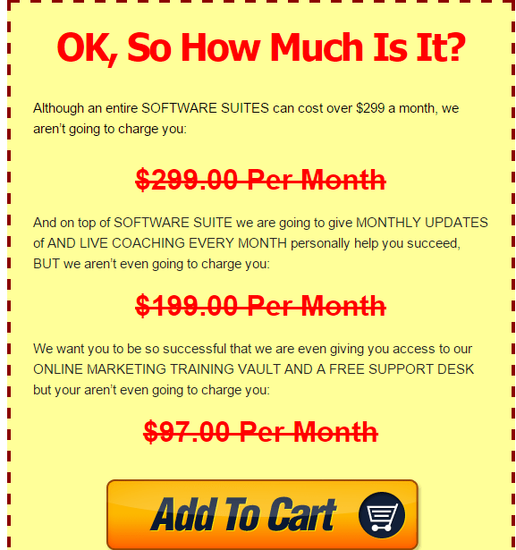 Magic Submitter pricing details