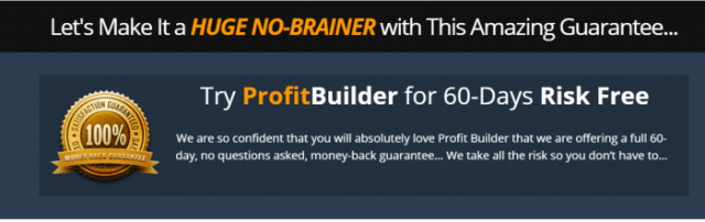 WP Profit Builder Risk Free