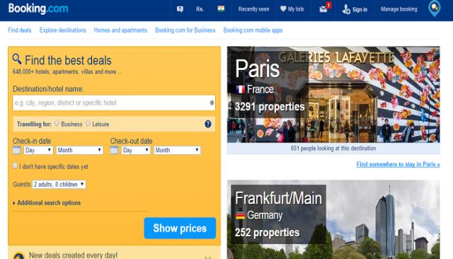 Latest 2018 best travel affiliate programs sign up make money booking com affiliate program fandeluxe Choice Image
