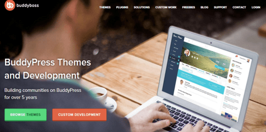 BuddyBoss BuddyPress Themes and plugin