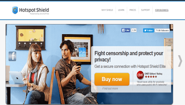 Hotspot Shield Elite VPN Virtual Private Network coupon codes discount codes promo codes