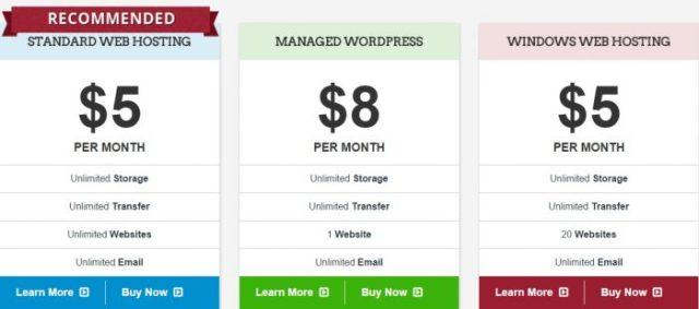 Interserver web hosting plans