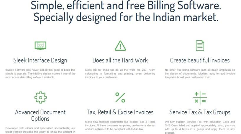 sleek bill features
