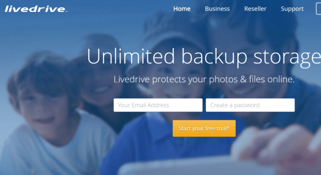 Livedrive Cloud Storage Unlimited Online Backup
