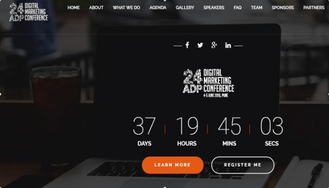 24ADP Digital Marketing Conference Pune 2016 June 4 5