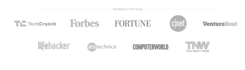 Backblaze Best Unlimited Online Backup and Cloud Storage Services