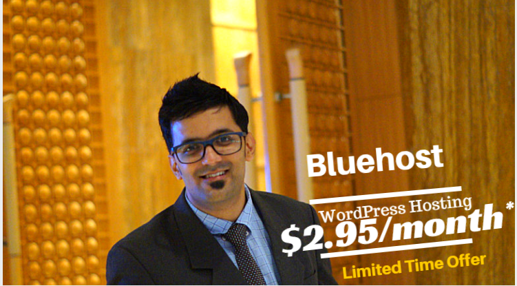 Bluehost special offer