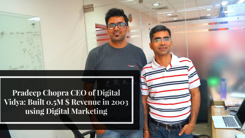 Pradeep Chopra CEO of Digital Vidya
