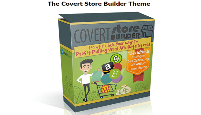 Covert Store Builder Theme Review