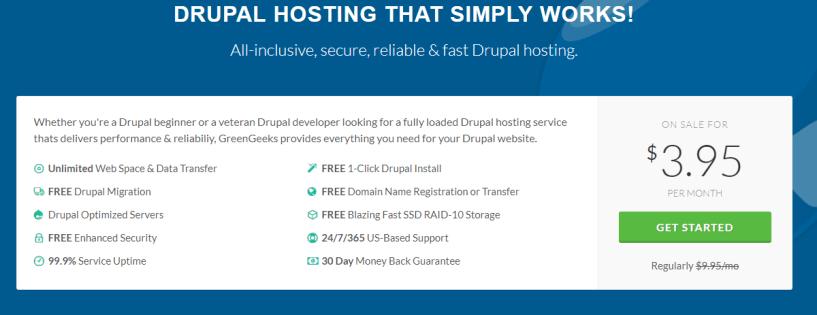 Drupal Hosting by GreenGeeks®