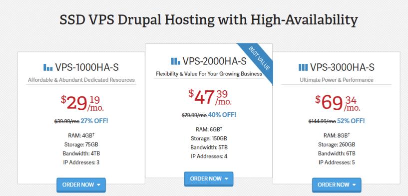 Inmotion drupal hosting prices