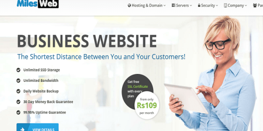 MilesWeb Best Web Hosting Company in India That You Can Trust