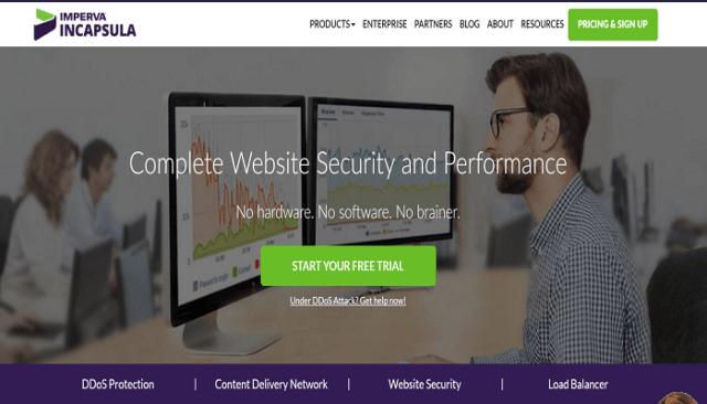 Incapsula Review CDN Website Security DDoS Protection Load Balancing