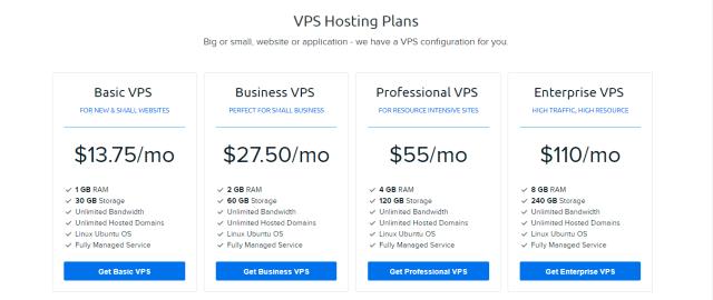 Dreamhost VPS linux hosting