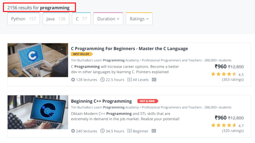 Programming Online Courses- Udemy Coupon Codes