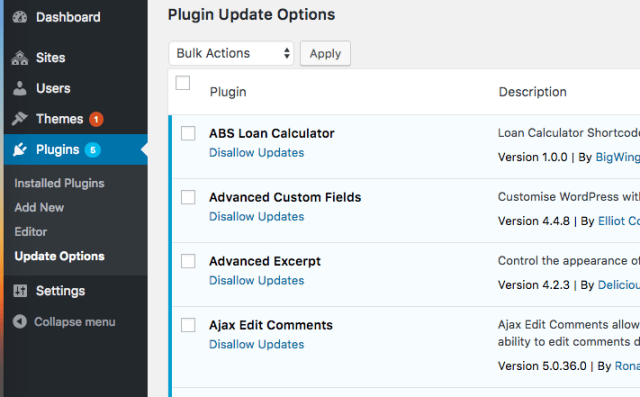 disable-updates-plugins
