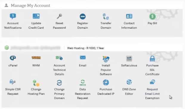 inmotion-hosting-account-management-panel
