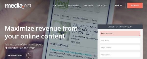 Media.net Pop-Under Ad Networks