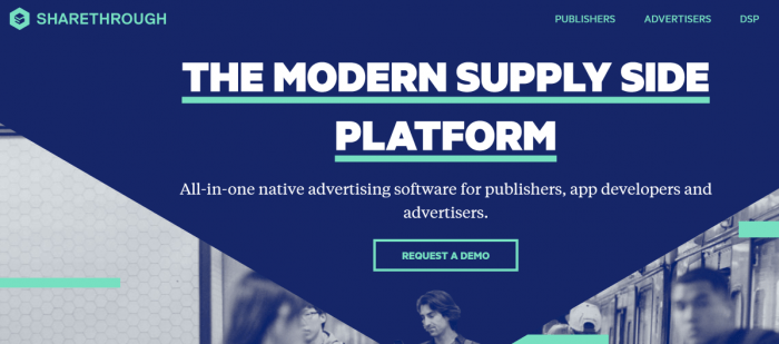 Sharethrough Native Advertising Software For Publishers