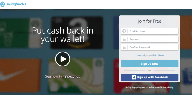 swagbucks - money making app