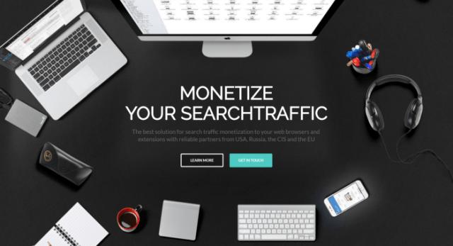 TNX monetize search network