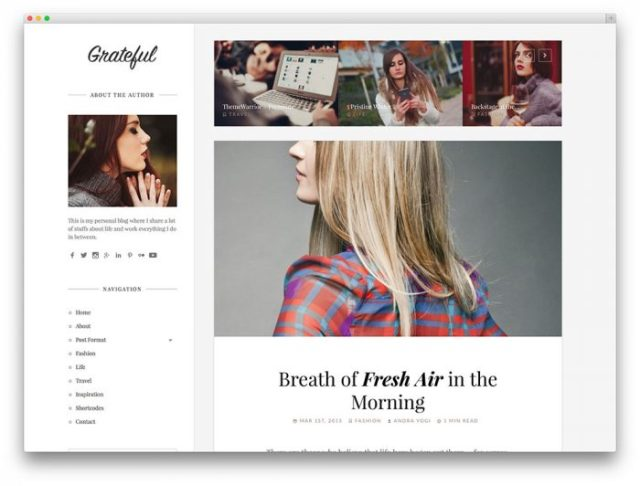innovative content for fashion blog