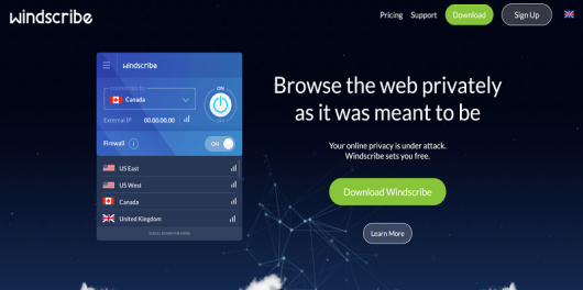 Windscribe VPN review
