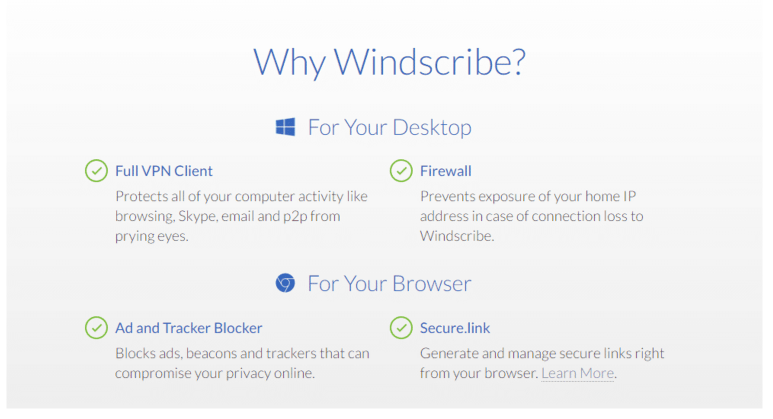 Windscribe review features why it needed