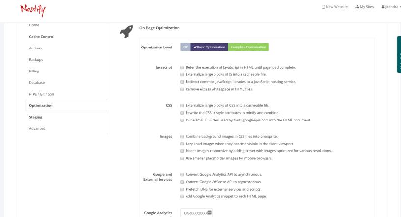 Nestify Onepage tool