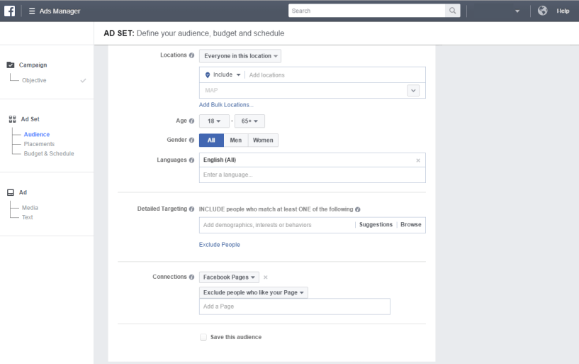 facebook ads shopify