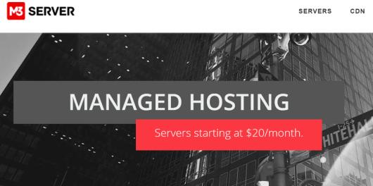m3server hosting review