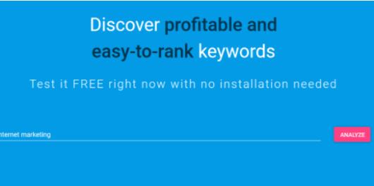 ferzy - keyword difficulty tool