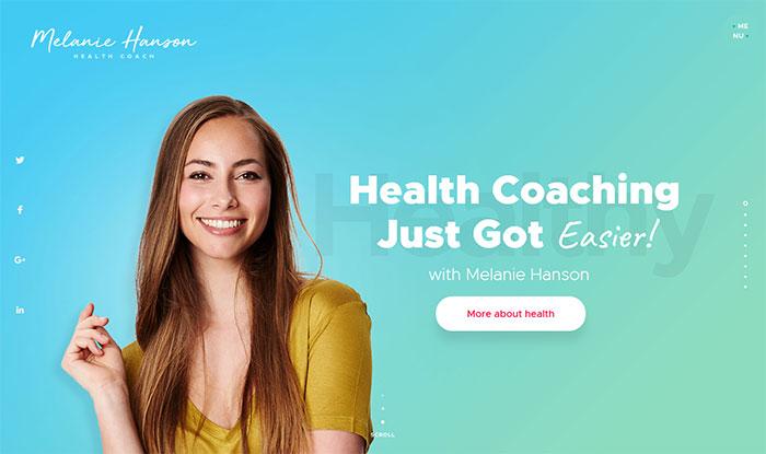 healthcoach - Sports WordPress Themes