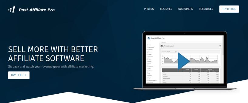 Affiliate Tracking - Affiliate Program Software Post Affiliate Pro
