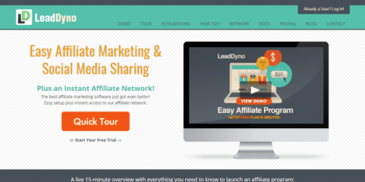 LeadDyno - Easy Affiliate Network