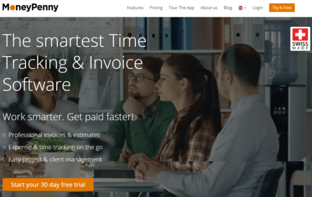 MoneyPenny Review Time Tracking Invoicing Software - Invoice tracking software