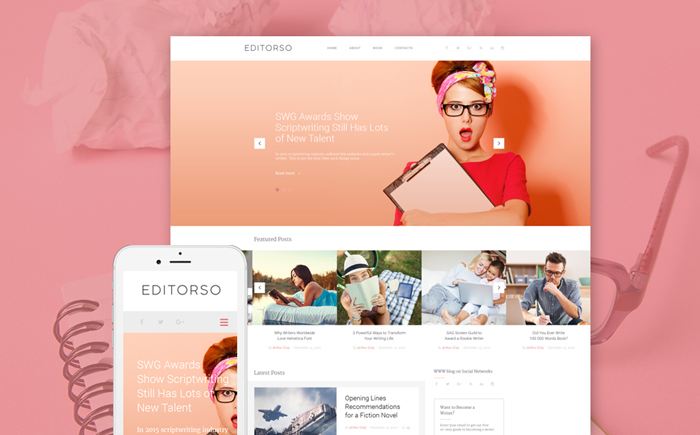 WordPress Template