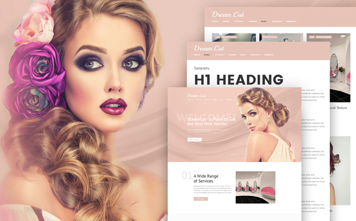 DreamCut WordPress Template