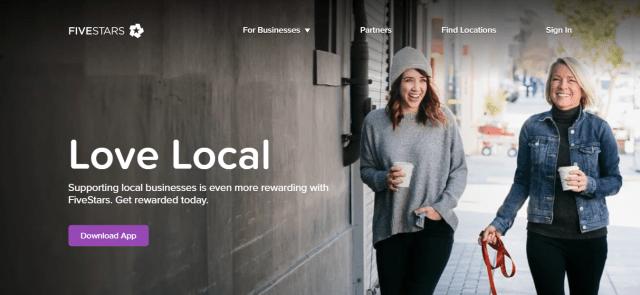 FiveStars - Customer Loyalty Program