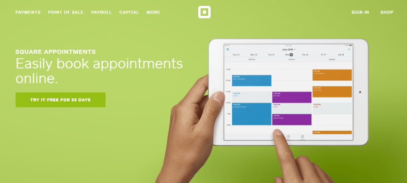 Online Scheduling Software - Square Appointments