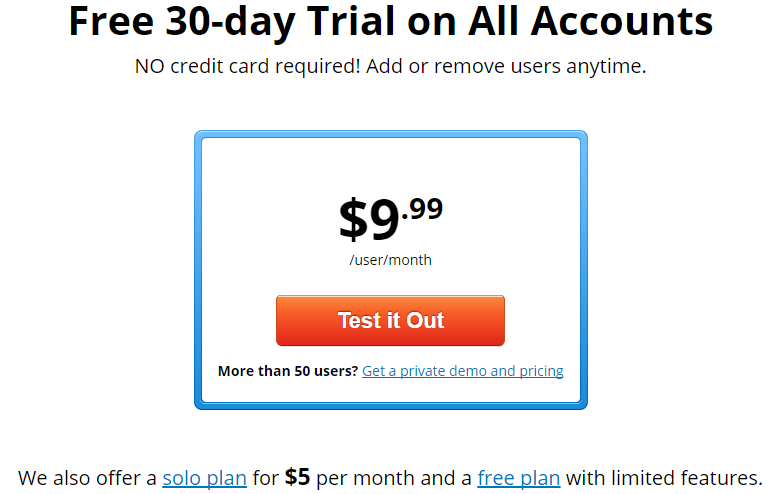 Pricing Plans Time Doctor