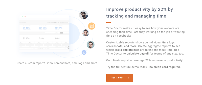 Smart Employee Time Tracking - Time Doctor Review