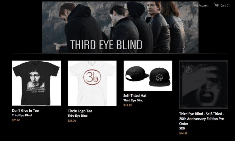 Third Eye Blind - shopify