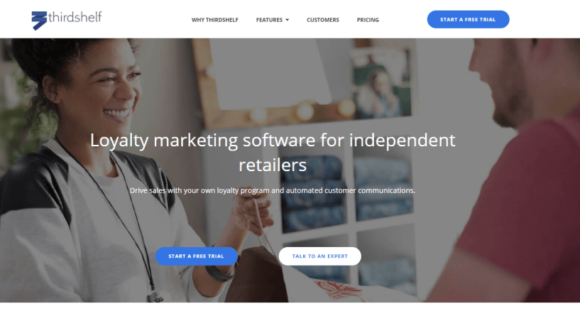 Thirdshelf - Loyalty Marketing Software for Retailers