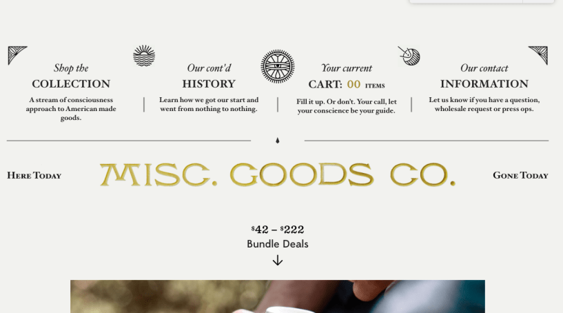 misc-goods-co. - shopfiy store