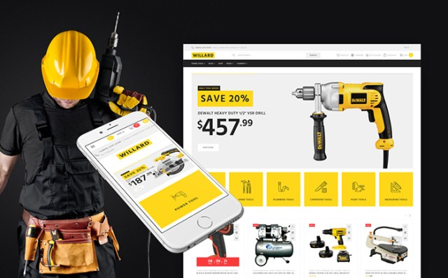 Willard - Tools & Hardware WooCommerce Theme