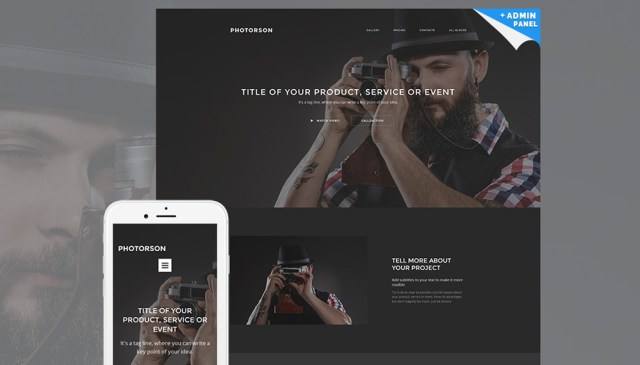 Make Your Life Easier with Photorson MotoCMS 3 Landing Builder