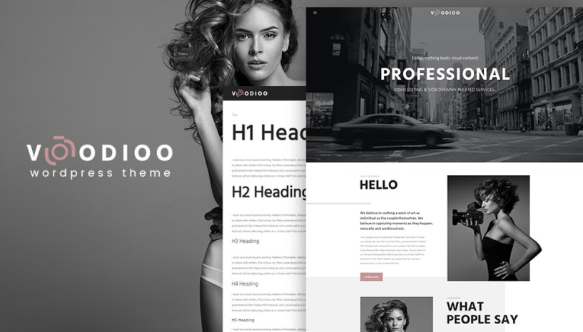 Fight off a Competition with Voodioo – Videographer Responsive WordPress Theme